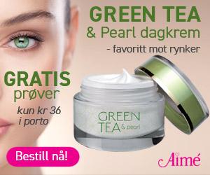 Prøv Green Tea & pearl dagkrem